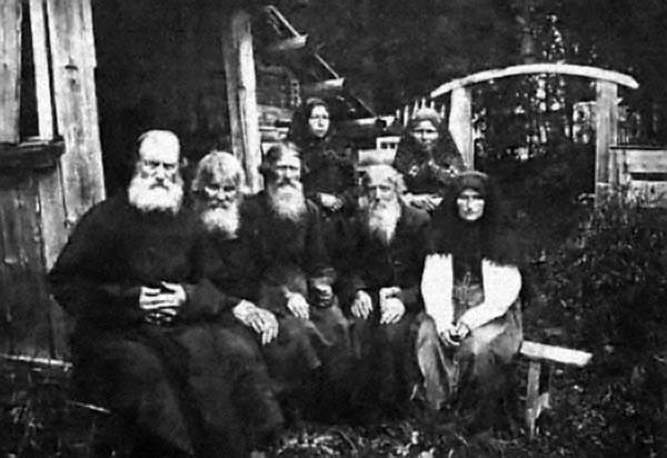 La famille LykovArchives soviétiques