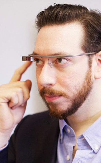 I used Google Glass© The Verge