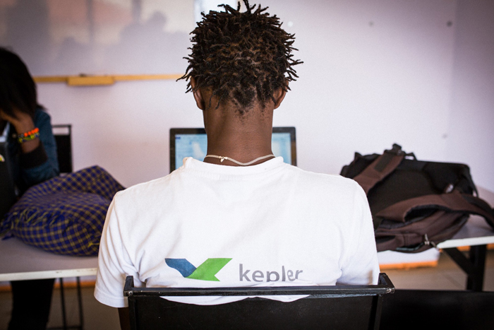 La méthode Kepler se base sur une combinaison de cours en classe et de cours en ligneCrédits : Juan Herrero