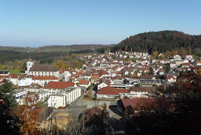 Maîche, le village natal de François, se trouve dans le JuraCrédits