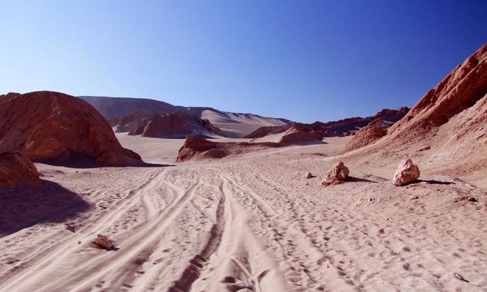Désert d'AtacamaLe plus sec au mondeCrédits
