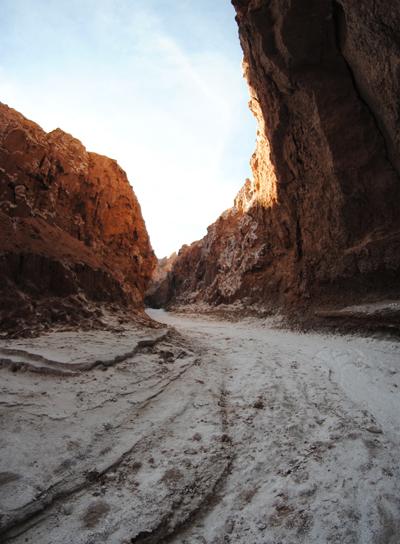 Un canyon du désert d'AtacamaCrédits