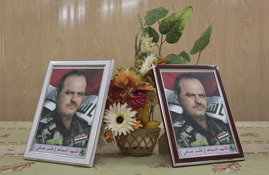 Portraits de Qassim Avaf, décédé en juin 2014Crédits : Matt Cetti-Roberts