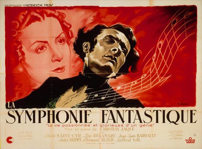 Une affiche présentant la Symphonie fantastiqueCrédits