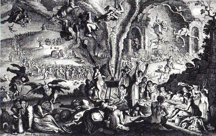 La ronde du Sabbat, scène onirique,  a inspiré Berlioz
