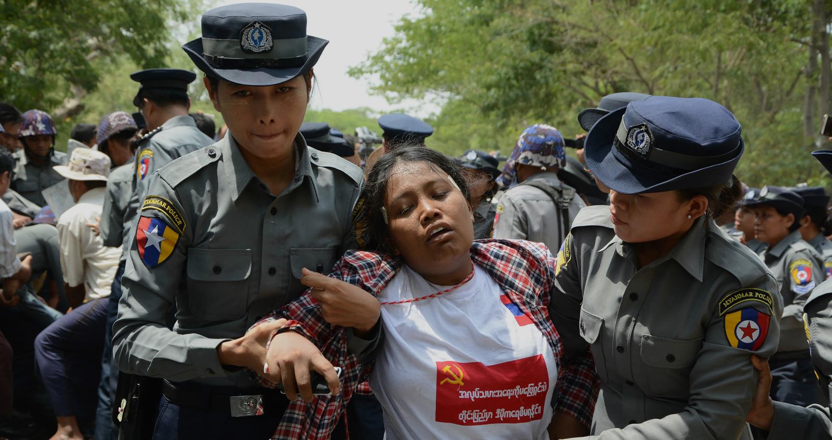 La Birmanie d'Aung San Suu Kyi ressemble de moins en moins à une démocratie