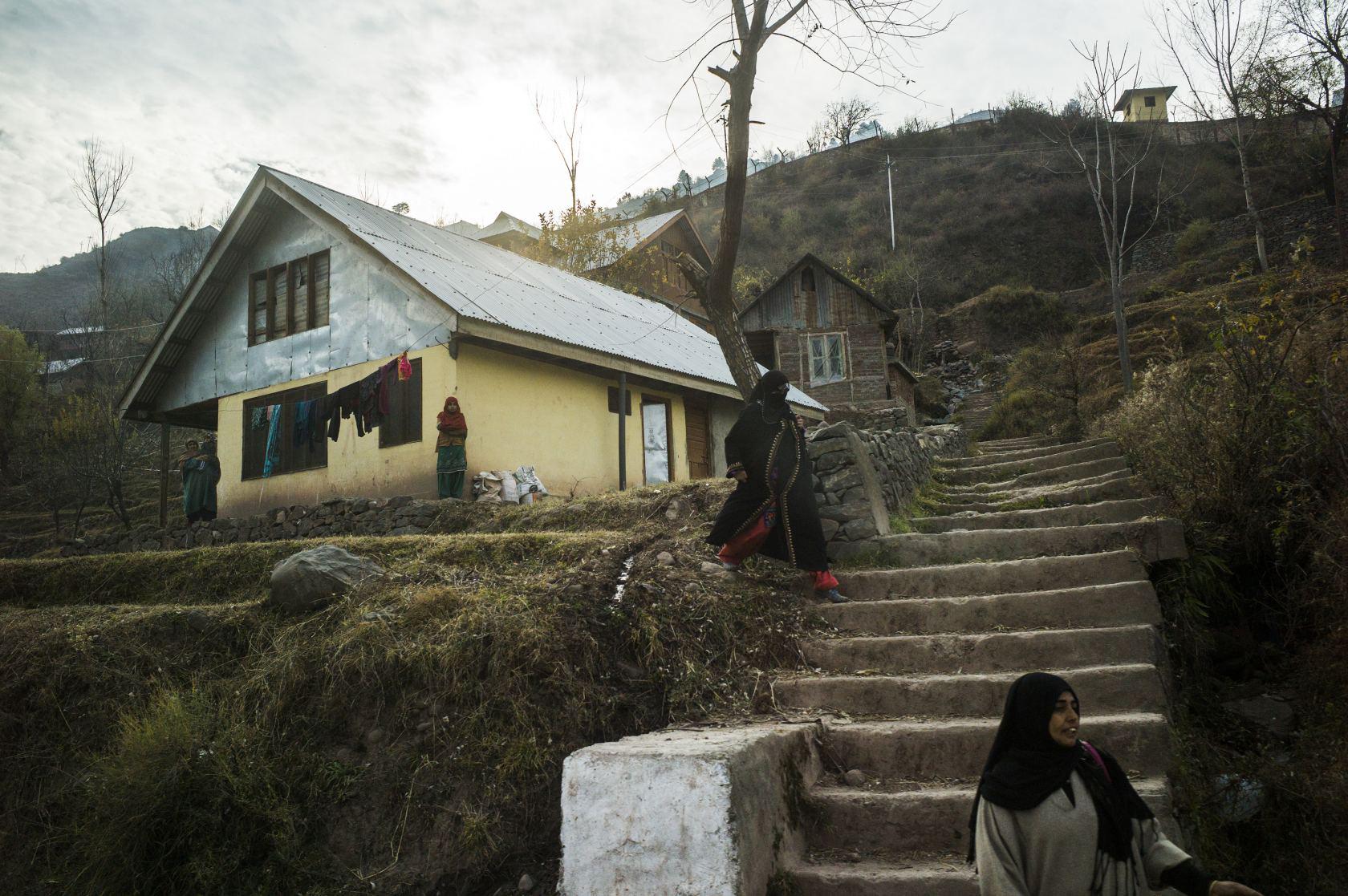 Journée normale à Uri, située du côté Indien de la frontièreCrédits : Sami Siva