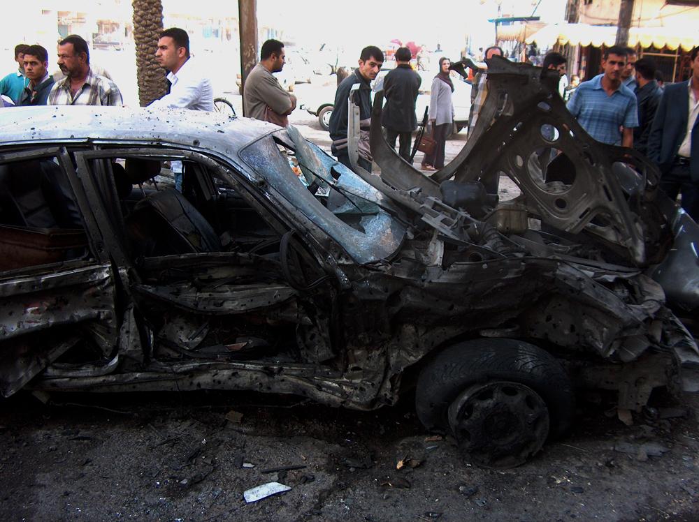 La vie continue dans les rues de Bagdad en dépit du danger permanentCrédits : U.S. Department of Defense