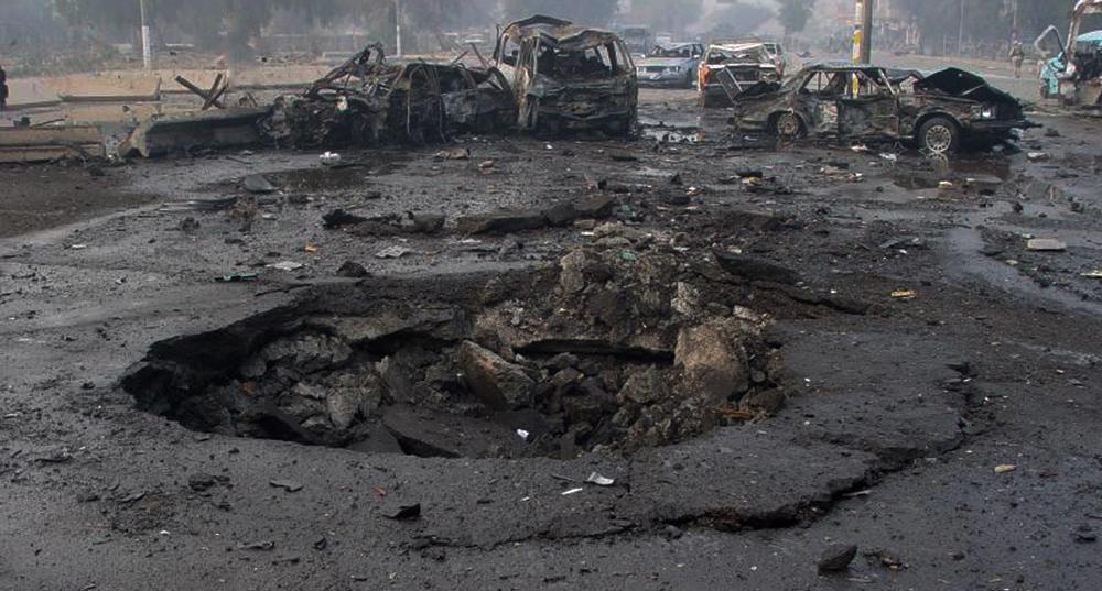 Un impact d'EEI à BagdadCrédits