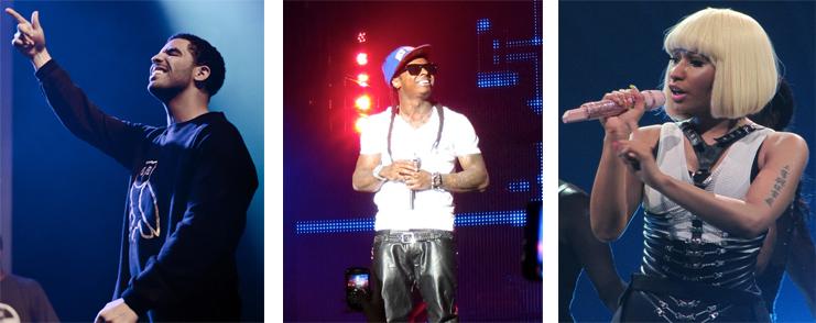 "Drake, Lil Wayne et Nicky Minaj, la nouvelle génération ""Cash Money"""