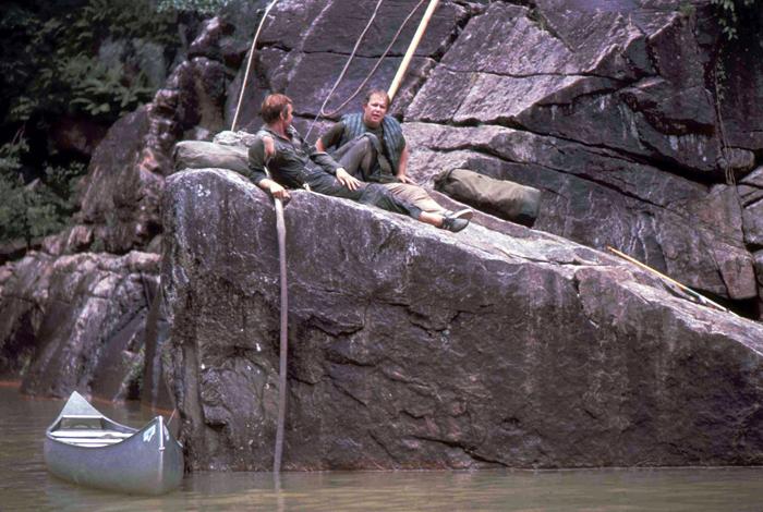 Les acteurs se reposent entre deux scènes éprouvantesCrédits : Christopher Dickey