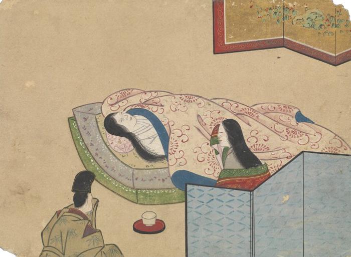 KusozuMort d'une noble dame et décadence de son corps 2/9XVIIIe siècle