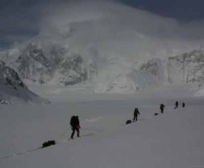La patrouille affronte le Denali par tous les tempsCrédits : Eva Holland