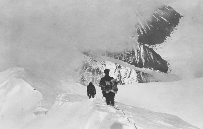 Browne lors de son ascension1912Crédits