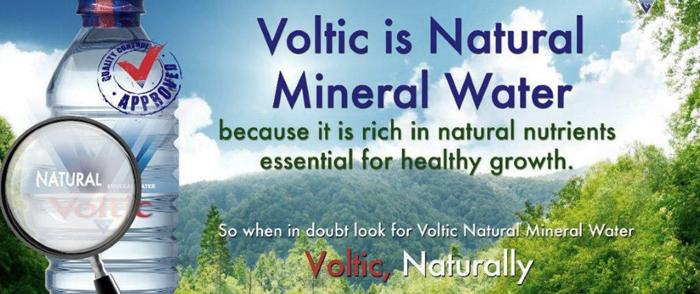 L'eau en bouteille est un produit de luxeCrédits : Voltic