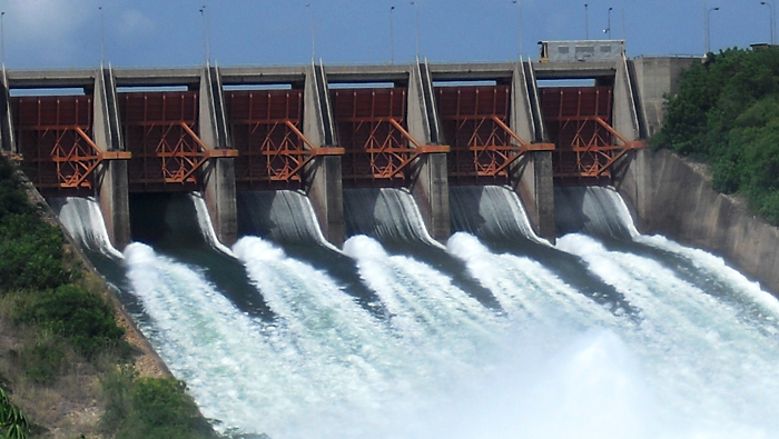 Le barrage d'Akosombo<Crédits : Wikipedia