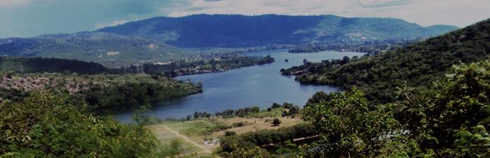 Le Lac Volta est le plus grand résevoir d'eau douce du mondeCrédits : Wikipedia