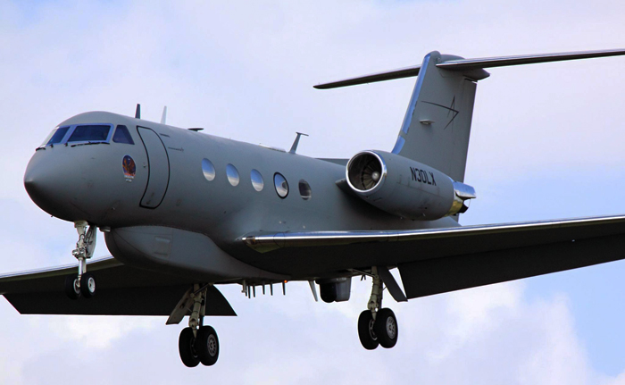 Gulfstream IIIL'avion qui a ramené Kent Brantly chez luiCrédits
