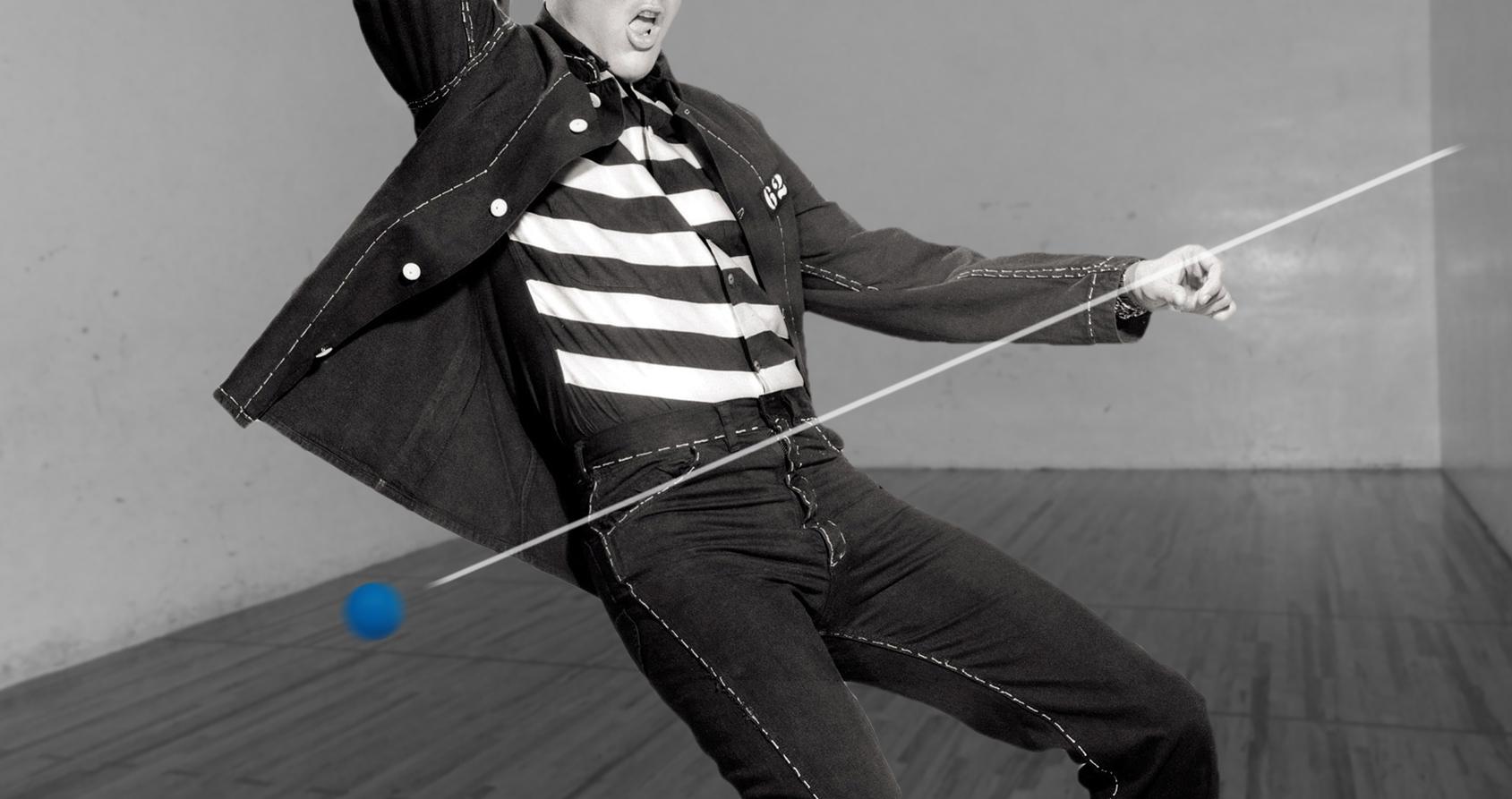 L'étrange passion d'Elvis pour le racquetball
