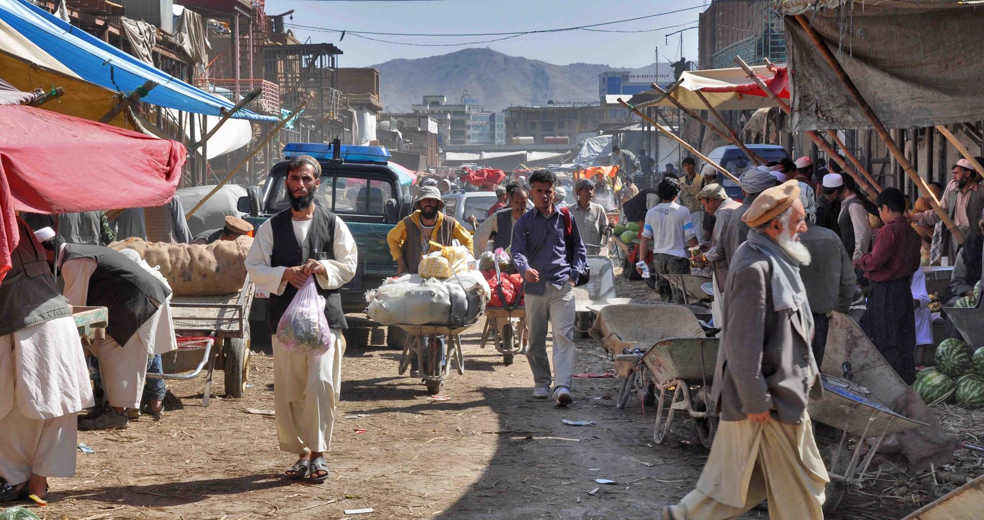 Rencontre avec un diseur de bonne aventure de Kaboul