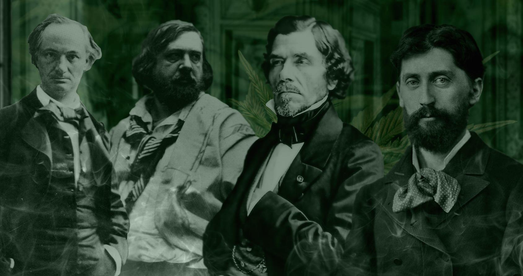 Les plus grands artistes français du XIXe siècle se réunissaient dans un club mystérieux pour fumer du shit (2)