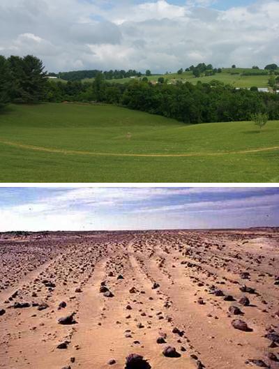 Difficile de passer de la verdoyante Virginie au désert de Bir Tawil