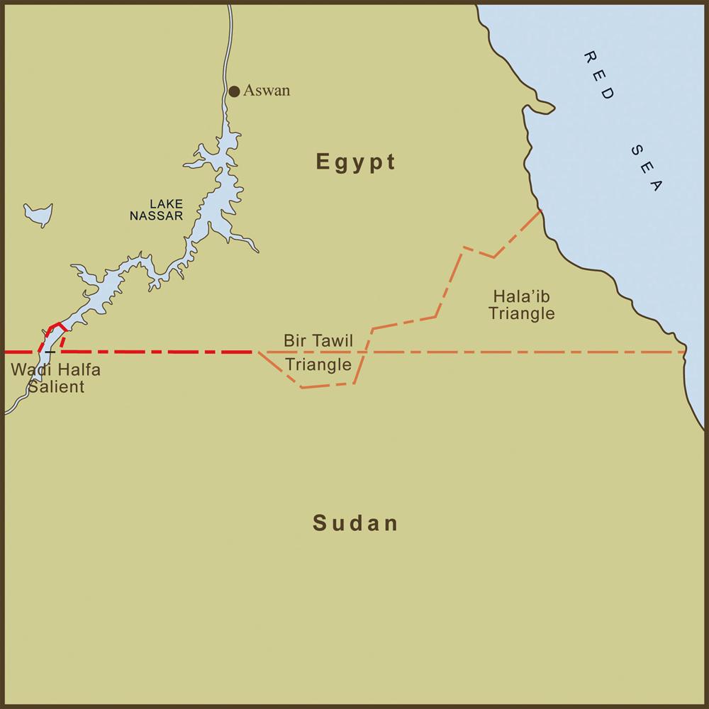Le Bir Tawil est à la frontière de l'Egypte et du SoudanCrédits : Andy Proehl
