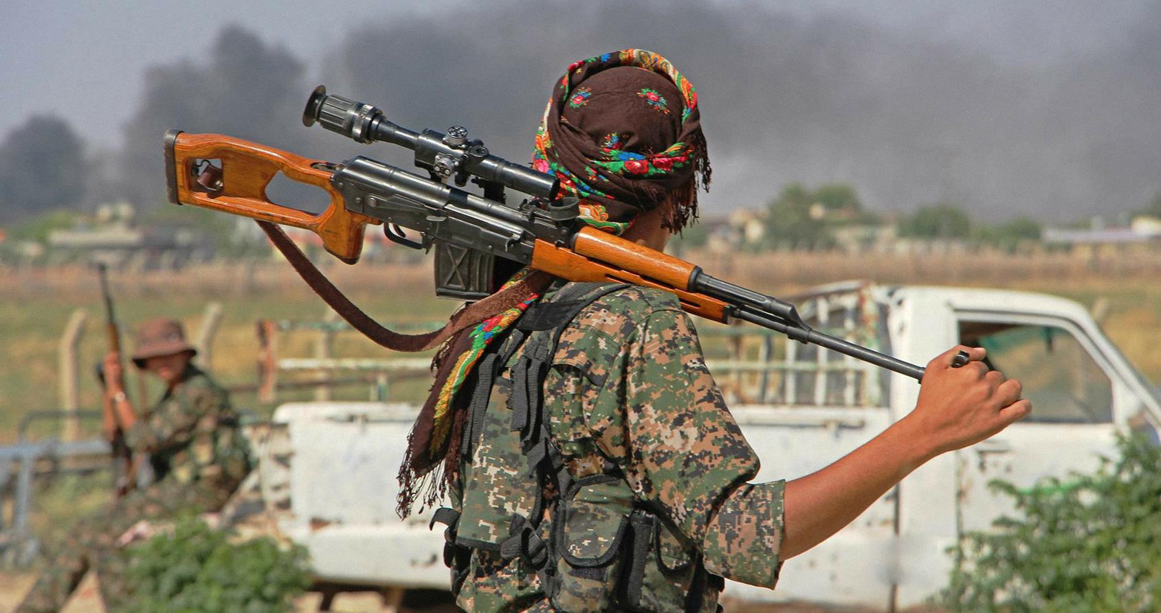Rencontre avec la toute première combattante kurde