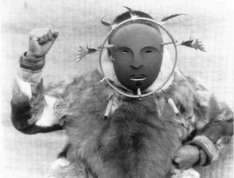 Masque de cérémonie inuitCrédits