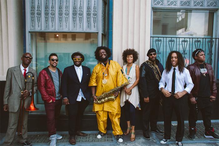 Kamasi Washington et son groupe, The Next StepCrédits : Janice Wang