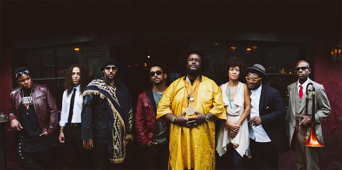 Kamasi et ses musiciens se connaissent depuis l'enfanceCrédits : Janice Wang