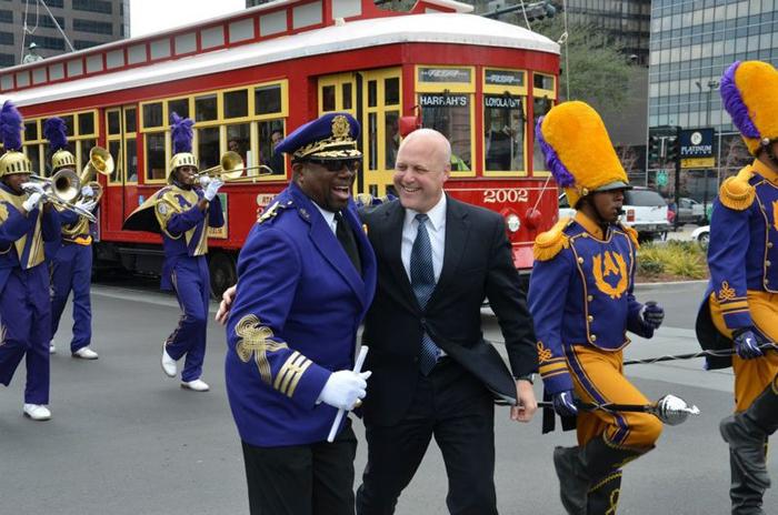 Mitch Landrien, maire de la Nouvelle-Orléans depuis 2010Crédits