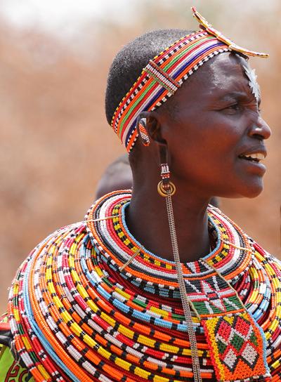Une femme de l'ethnie SamburuCrédits