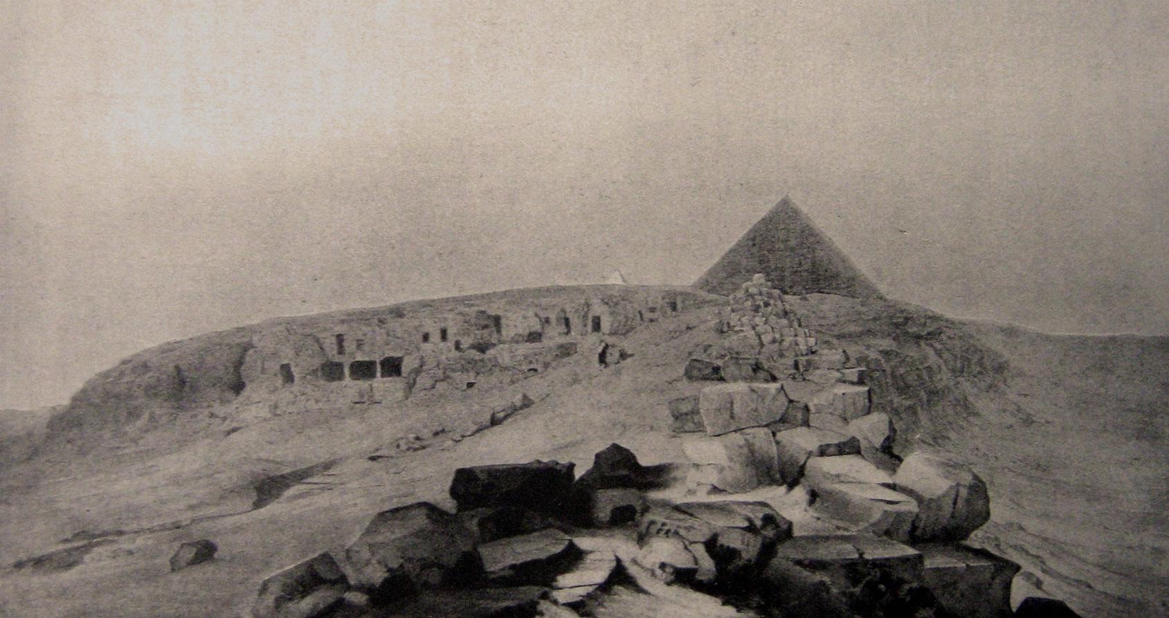 Sur les traces des pillards de la grande pyramide de Khéops