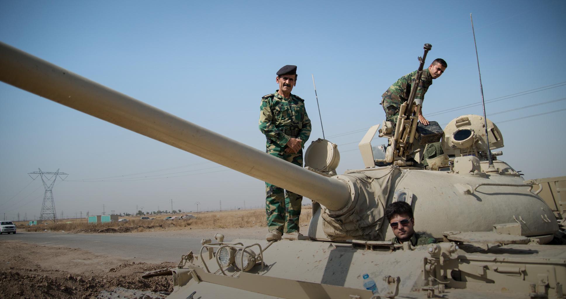 Les combattants kurdes épuisent Daech aux abords de Kirkouk