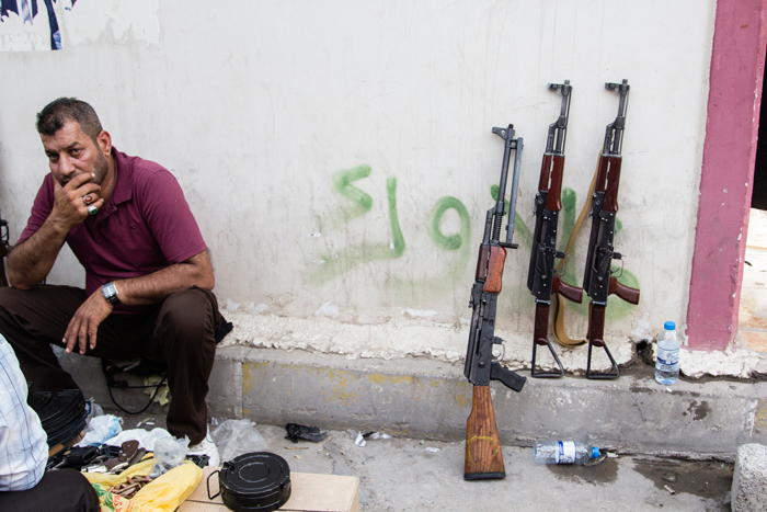 Le marché de KirkourkCrédits : MEE/Hawre Khalid