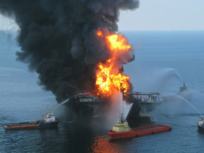 La catastrophe de Deep Water Horizon en 2010Crédits