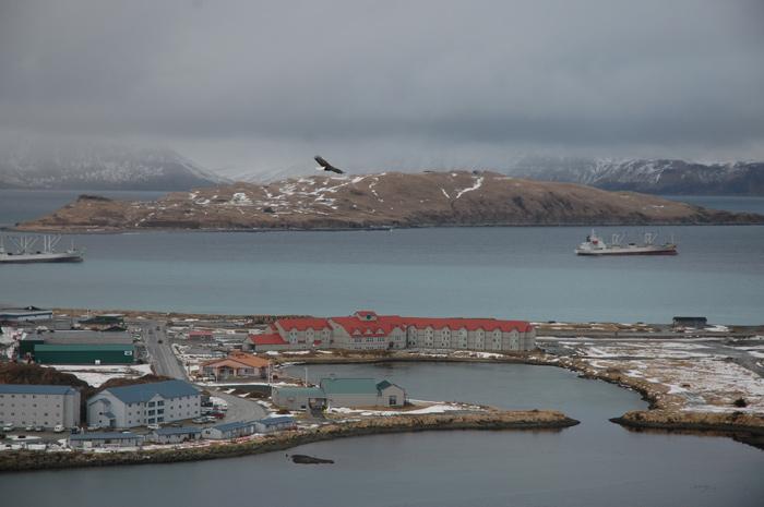 Dutch Harbor, le port en eaux profondes le plus prêt de l'ArctiqueCrédits