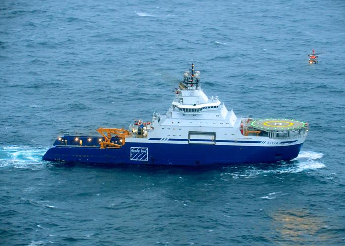 Le remorqueur Aiviq a été construit pour le KullukCrédits : USCG