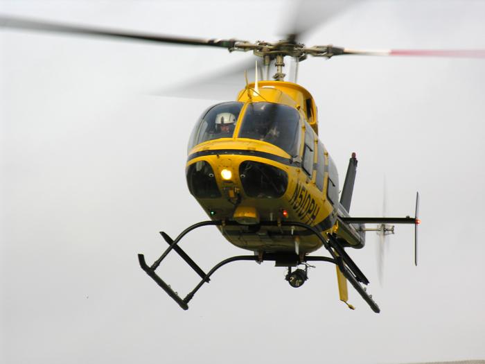 Les hélicoptères de la société PHI transportaient les employés de ShellCrédits