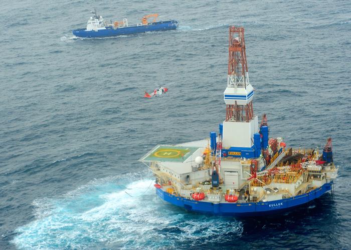 il est très difficile de s'approcher du pétrolierCrédits : USCG
