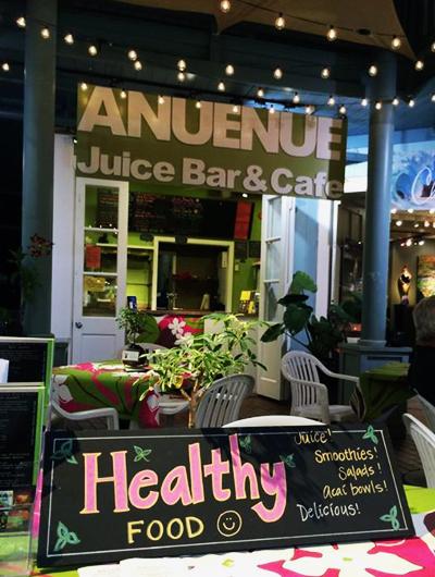 Tammy a ouvert son Juice bar à LanaiCrédits : Facebook