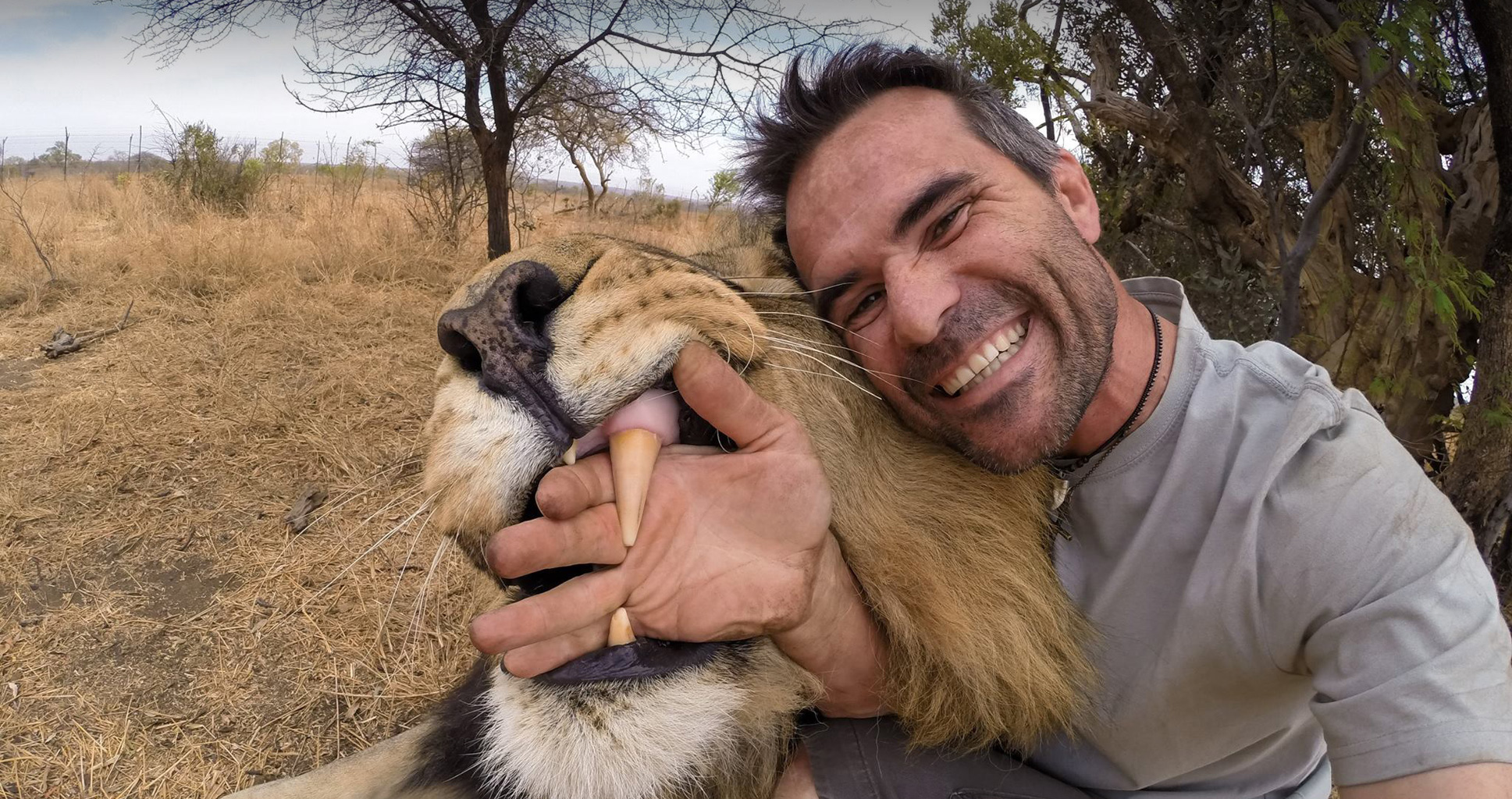 Les secrets de l'homme qui murmure à l'oreille des lions