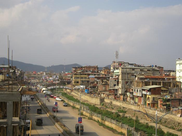 La ville d'Imphal, dans l'état de Manipur, au nord-est de l'IndeCrédits