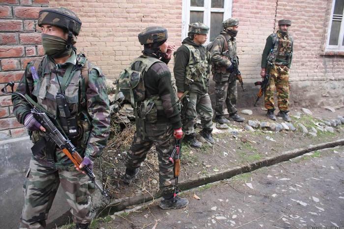 Des membres des Fusiliers de l'Assam, ue unité paramilitaire indienneCrédits : AssamRiffles/Facebook
