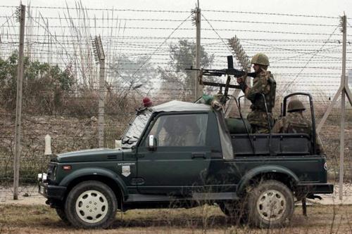 Les fusiliers agissent sous la responsabilité du ministère de l'intérieur Crédits : AssamRiffles/Facebook
