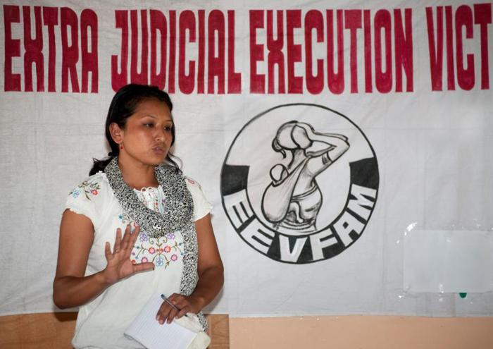 Renu Takhellambam a créé l'association EEVFAMCrédits : Renu Takhellambam/Facebook