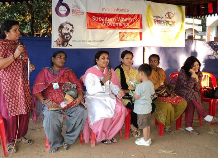 Renu Takhellambam lors d'une action en 2011Crédits : Renu Takhellambam/Facebook