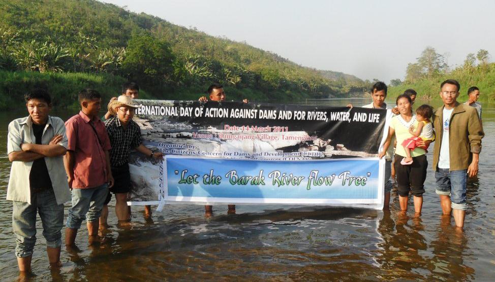 Jiten Yumnam (à droite) est militant de l'association écologiste Centre for Research AdvocacyCrédits : Jiten Yumnam/Facebook