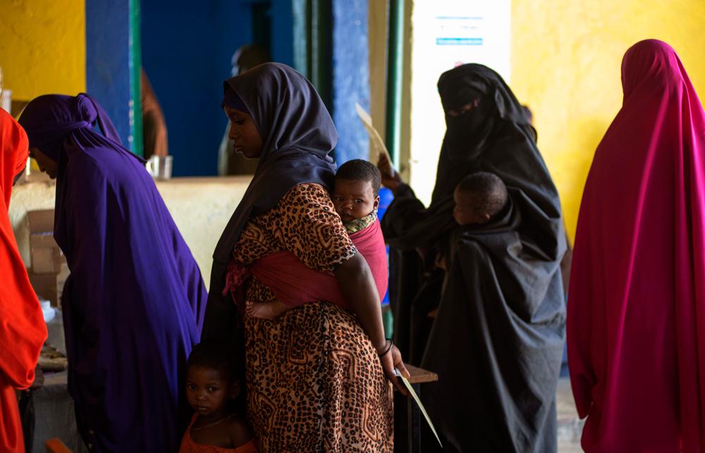 Dans la tradition somalienne, les femmes doivent avoir un enfant par anCrédits : Trocaire